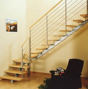 L escalier moderne acier et bois escaliers 51 for Escaliers modernes