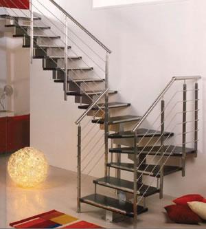 l escalier moderne acier et bois escaliers 51. Black Bedroom Furniture Sets. Home Design Ideas